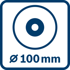 Disc diameter 100 mm