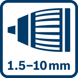 Autolock chuck 1.5 - 10.0 mm