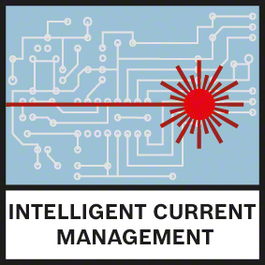 Intell. Current Management Intelligent current management helps to monitor the laser diode temperature and to maximise laser visibility without overheating