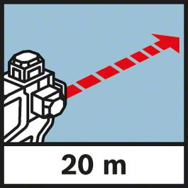 Working range Range 20 m