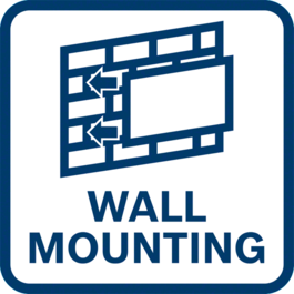 Wall mounting function
