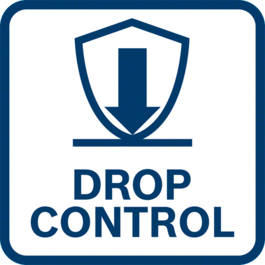 Enhanced user protection thanks to the Drop Control function the tool switches off when dropped accidentally