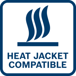 Power your heat jacket thanks to the battery adapter