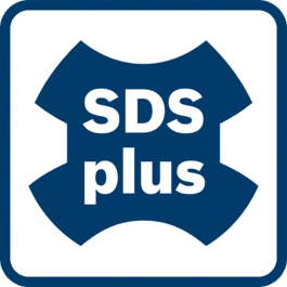 SDS plus toolholder Optimum power transfer. For Rotary Hammers in the 2 – 4kg class.