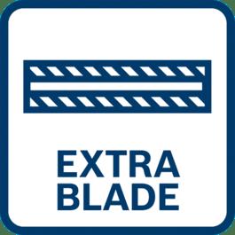 Extra blade holder