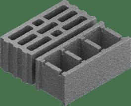 Concrete building block