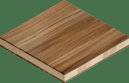 Solid wood furniture board