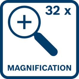 Magnification 32x