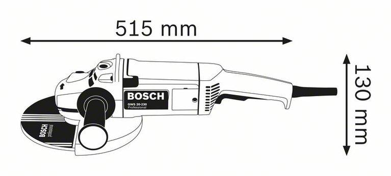 კუთხსახეხი (ბალგარკა) GWS 22-230