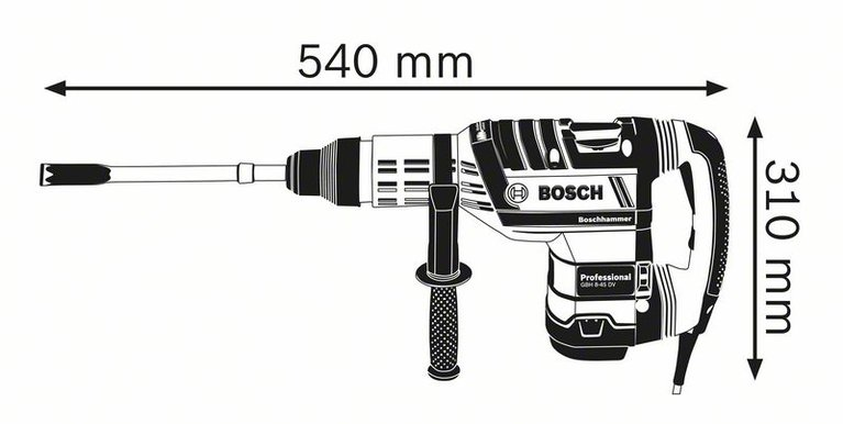 GBH 8-45 DV